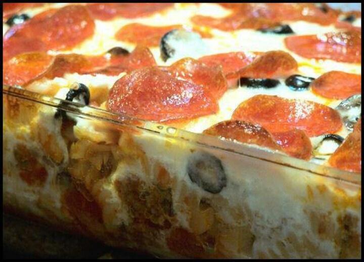 Pepperoni bake | Recipes | Pinterest