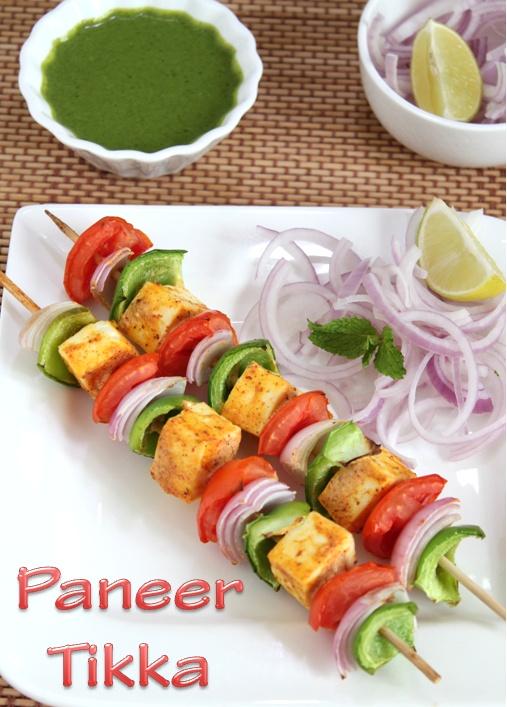 Paneer Tikka | Appetizers > Snacks | Pinterest