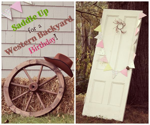 Backyard Western Party Ideas : Saddle Up for a Backyard Western Theme Birthday Party