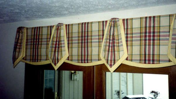Sew Easy Windows. Layered Valance | Sewing Crafts | Pinterest