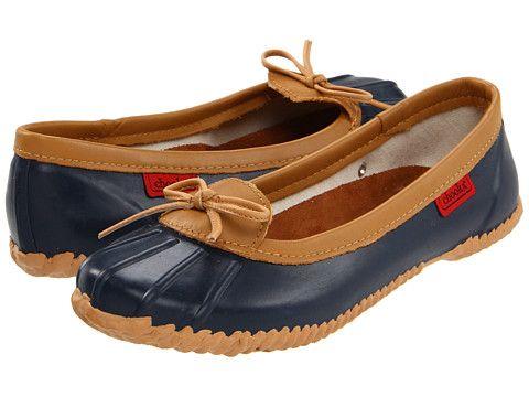 Chooka Solid Duck Skimmer Women's Slip on Shoes