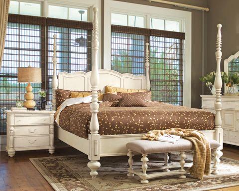 furniture paula deen home paula deen savannah bedroom set in linen
