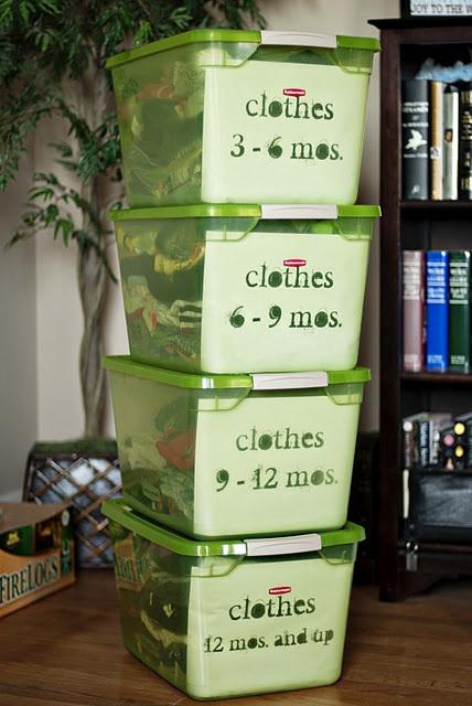 Organizing baby clothes organization pinterest