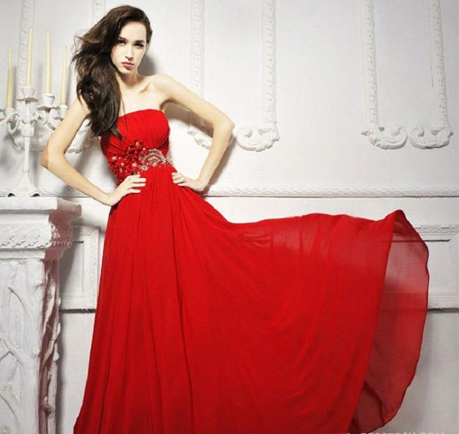 Red wedding dresses meaning