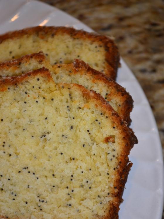 Orange-glazed poppy seed bread   recipes   Pinterest