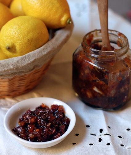 meyer lemon cherry chutney. yum | foooood yum....FTW | Pinterest