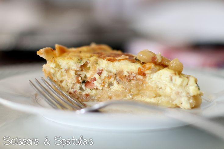 caramelized vidalia onion quiche - yum | Vidalia | Pinterest