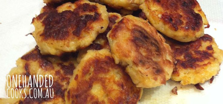 Salmon Potato Patties - One Handed Cooks