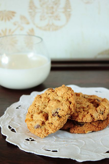 Whole Wheat Chocolate Chip Cookies | For the Foodies | Pinterest