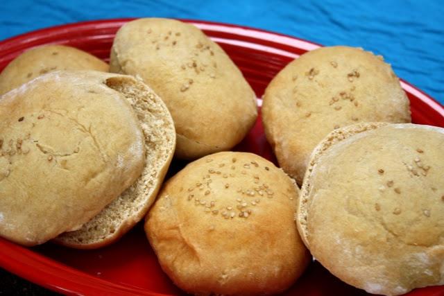 Honey Wheat Sandwich Buns | Bread Recipes | Pinterest