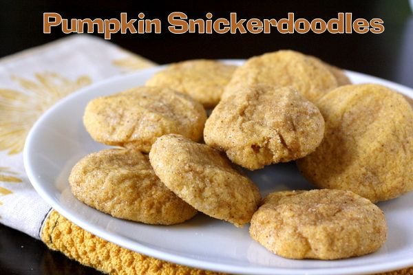 Pumpkin Snickerdoodles | Cookies, cakes and bars | Pinterest