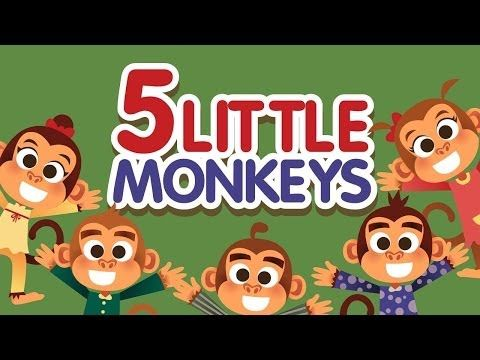 7 monkeys kids animation songs parody