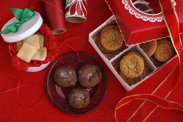 Chocolate Caramel Cookies with Sea Salt and other recipes for salt and ...