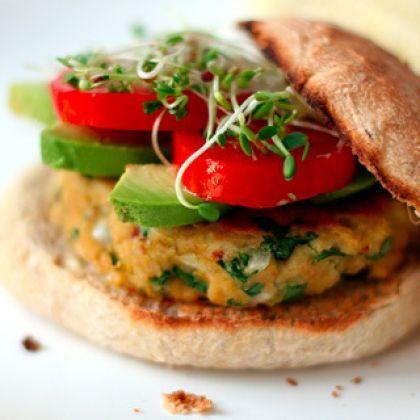 Ultimate Veggie Burger | Eat Yourself Skinny | Pinterest