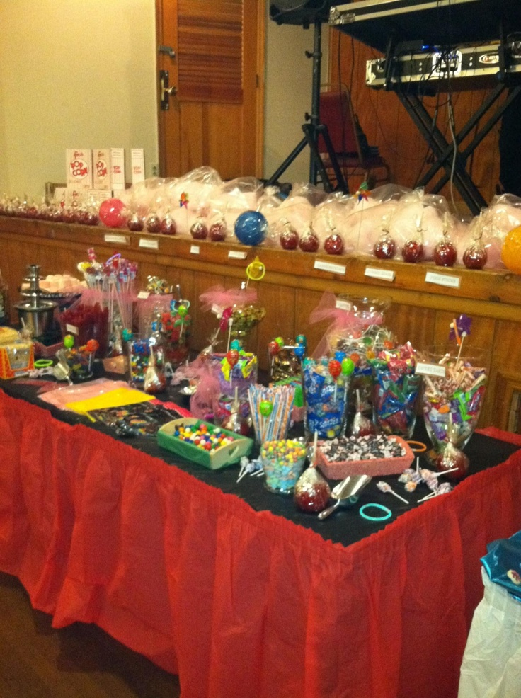 Sweet 16 Candy Table Ideas Photograph At MY Sw