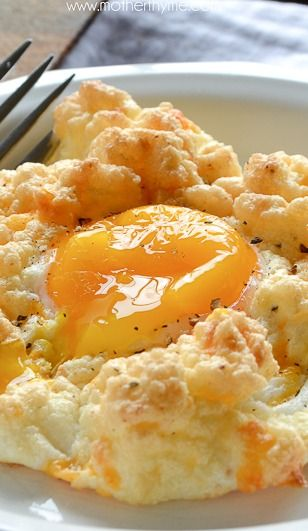 Cheddar Bay Egg Nests | Recipe