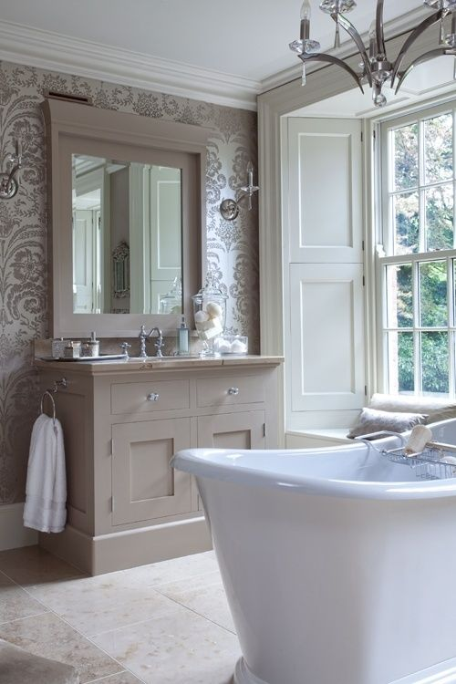 Light Bright And Airy Bathroom For The Home Pinterest
