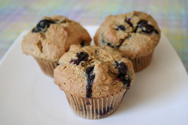 Gluten-Free Blueberry Muffins with Almond Flour by Tasty Yummies, via ...