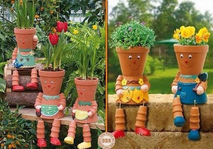 cute flower pots garden pinterest