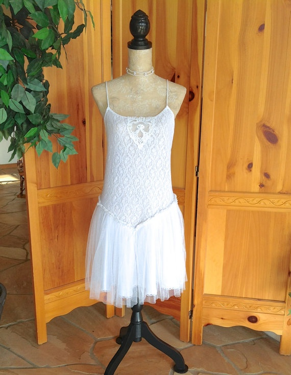 French Country Girl Lace And Tulle Wedding Dress Honey Girl Couture O