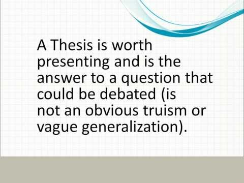thesis statement of sustainable development