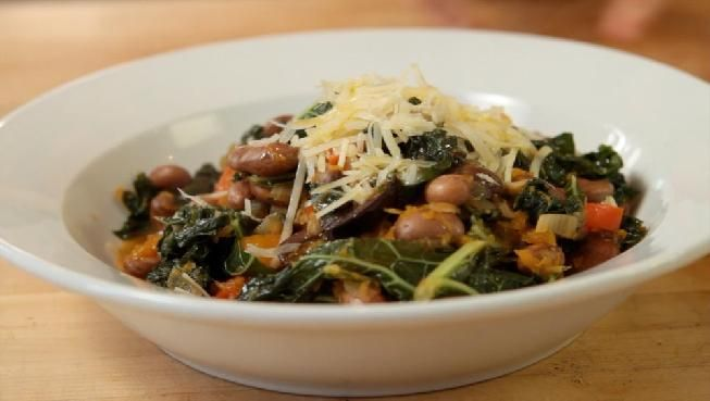 Vegetarian Kale Soup | Making Gwenyth Paltrow look like Paton Oswald ...