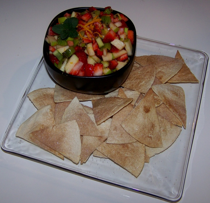 fresh fruit salsa | For Your Health! | Pinterest