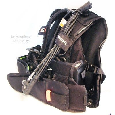 *SOLD* NEW DACOR THE RIG 3 Mens BCD SCUBA DIVER DIVE DIVING BUOYANCY COMPENSATOR VEST $1