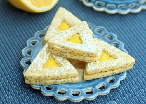 Lemon Poppy Sandwich Cookies Recipes — Dishmaps