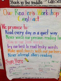 Readers Workshop contract