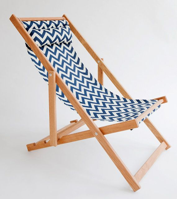 Huron Deck Chair sling chair handmade outdoor furniture