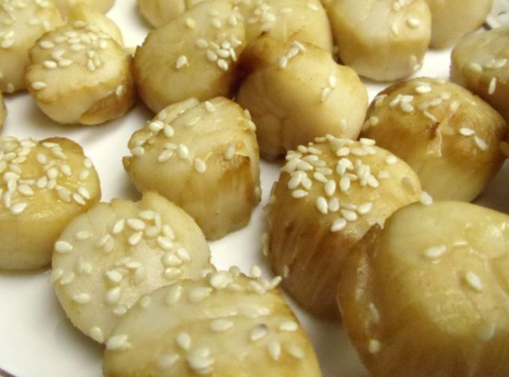 Honey Broiled Sea Scallops | Recipes - Seafood | Pinterest