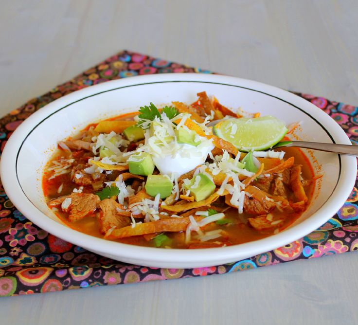 Eva Longoria's Chicken Tortilla Soup | Recipe