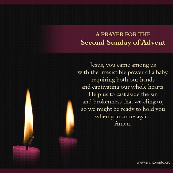 Prayer for the Second Sunday of Advent | Advent Quotes, Images and ...