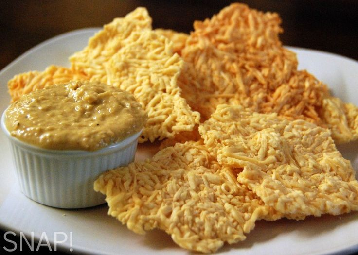 Parmesan crisps - aka Dried Mummy Skin for #Halloween