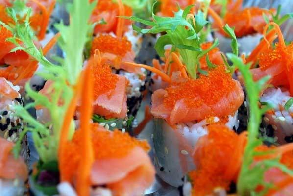 smoked salmon rolls :) | Yummy for my Tummy | Pinterest