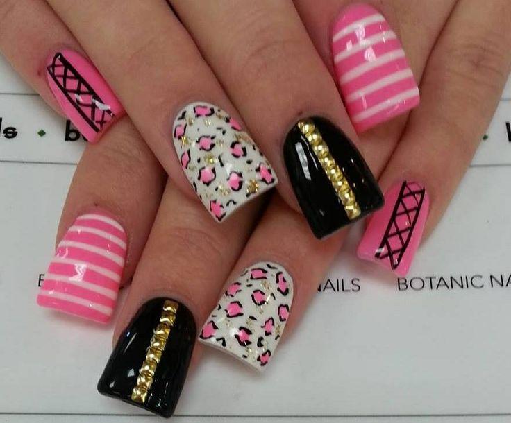 Pretty nail manicure | NAIL ART | Pinterest
