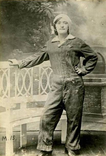 Charlotte 'Lottie' Meade was a munitions worker during the First World War. She died of TNT poisoning contracted on duty.    Her death certificate recorded that she lived in North Kensington in London. It is believed she had at least three great-grandchildren.