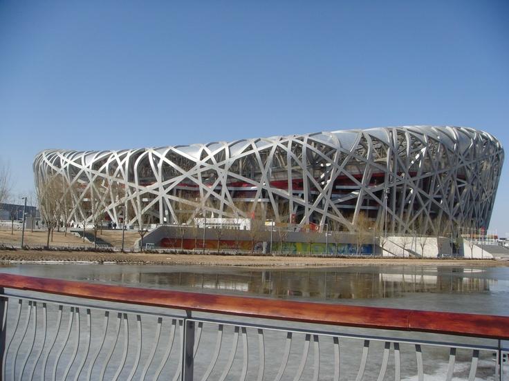 Beijing bird 39 s nest stadium architecture pinterest for The bird s nest stadium