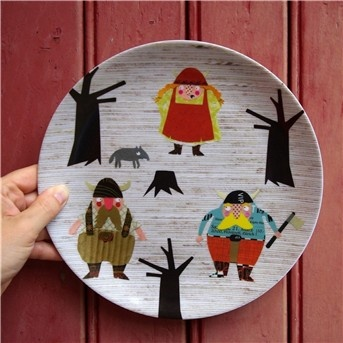 viking family melamine by herzensart