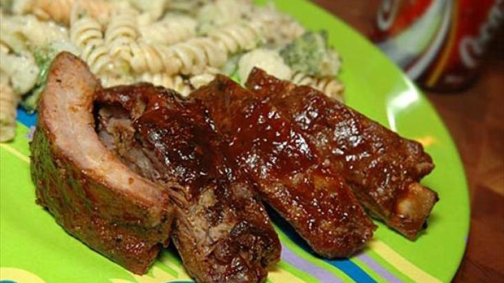 BBQ Ribs With Cola Sauce | Food, add flavor to your day! | Pinterest