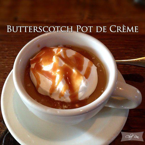 Butterscotch Pot de Crème | Desserts | Pinterest