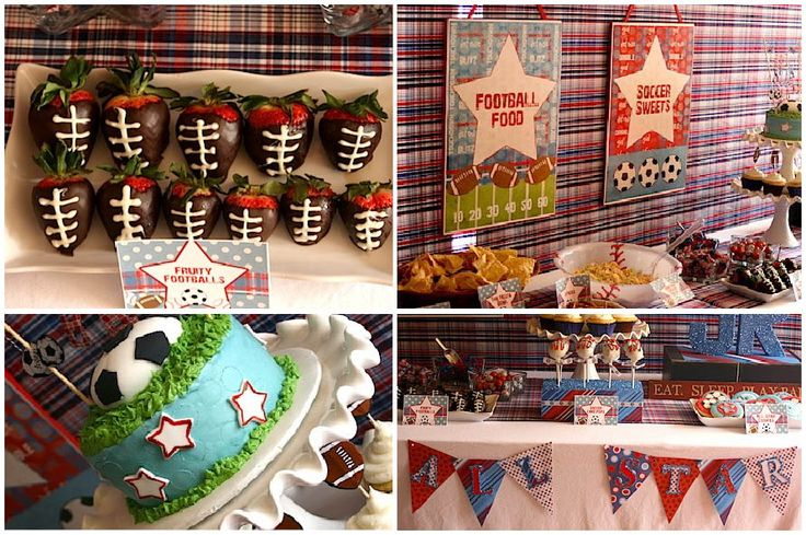 baby shower food ideas sports themed baby shower ideas