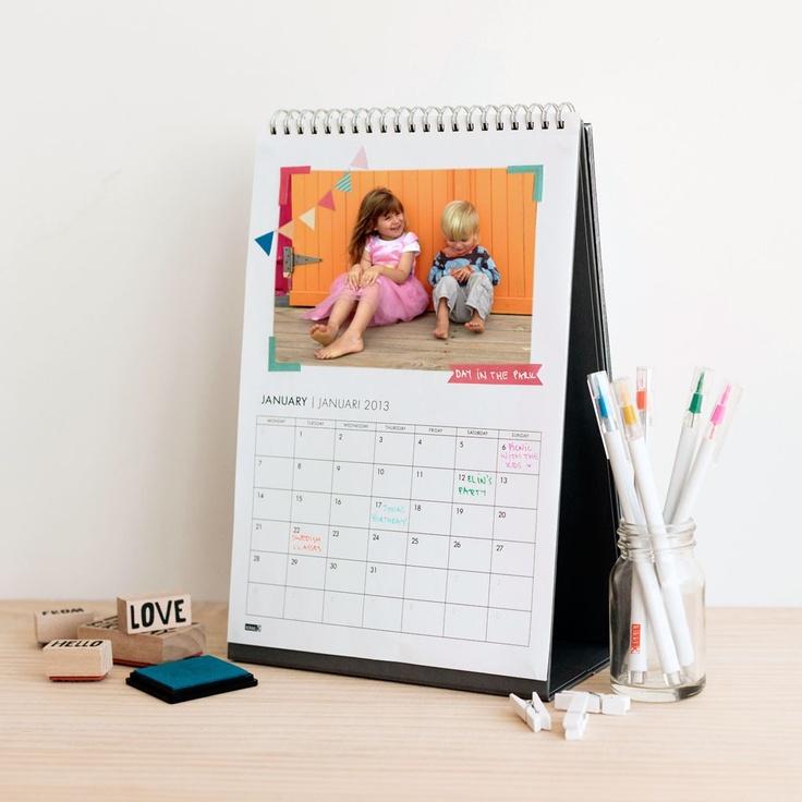 Calendar Diy Ideas : Diy desk calendar handmade calendars pinterest