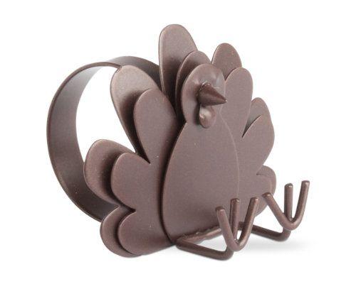 thanksgiving turkey napkin ring  & placecard holder