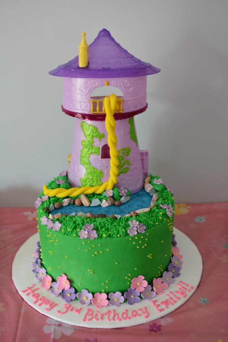 Tangled birthday cake  Cakes  Pinterest
