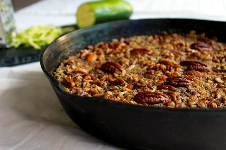 zucchini bread oatmeal #vegan | Yummy treats | Pinterest