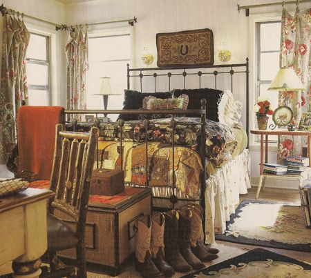 Vintage Cowgirl Bedroom