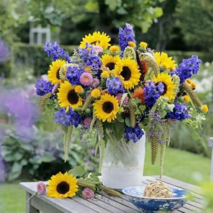 Cheerful Flowers Wedding Ideas Pinterest