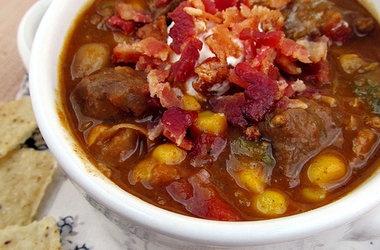 Sirloin Steak Chili — Punchfork | Recipes To Try | Pinterest